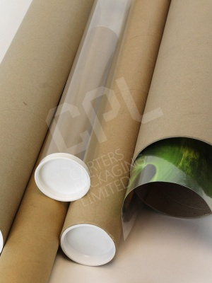 Packaging tubes for posters and blueprints