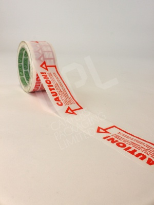 Rolls fo Caution Printed Tape