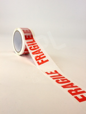 Printed Fragile Tape, Excellent for Packaging Glassware and Expensive Ornaments