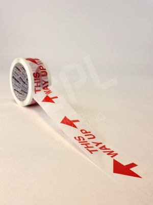 This Way Up Printed Tape