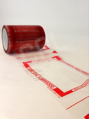Documents Enclosed Printed Tape