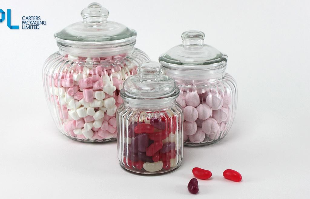 Visually Elegant Sweet Jars