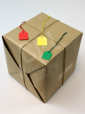 Colourful Strung Tags