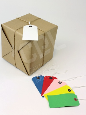 Shipping Tags in Various Colours