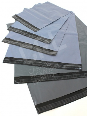 Grey Mailer Envelopes