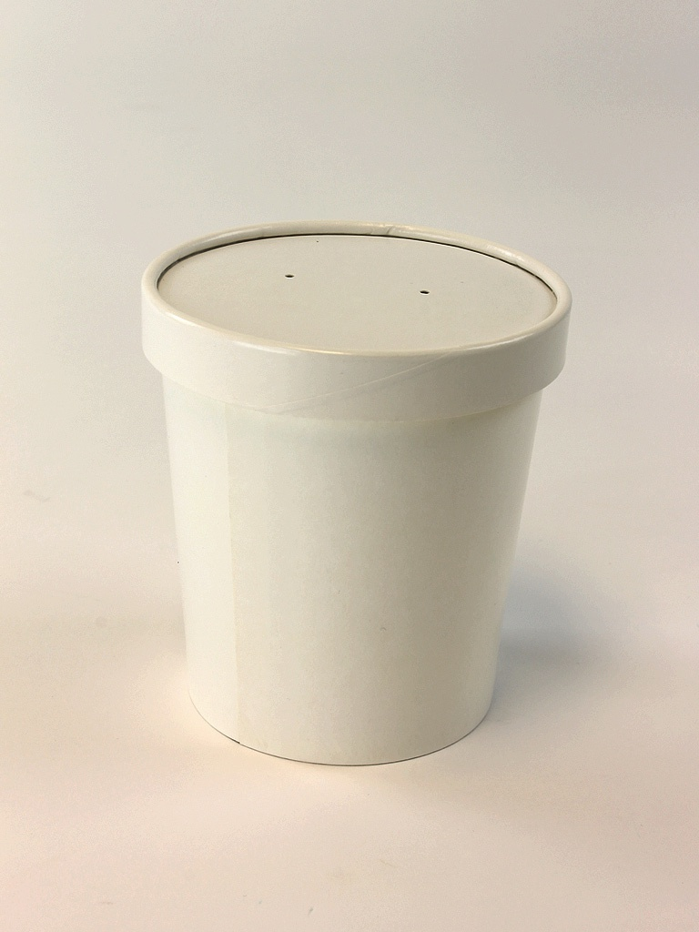 Paperboard Soup Containers   Hot Food Tubs