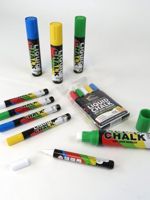 Range of Liquid Chalk Pens