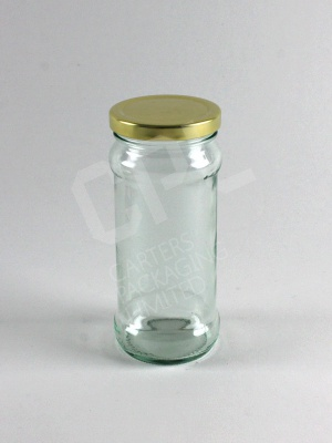 248ml Chutney Jar with Gold lid