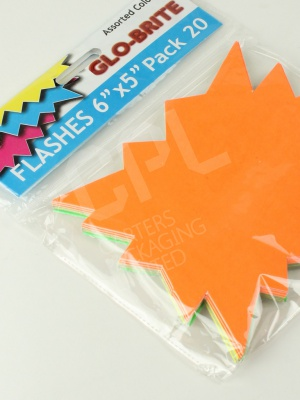 Brightly Coloured Card for Bargains and Promotions