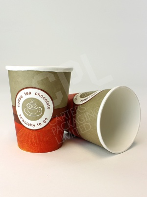 12oz Hot Drink Cups 'Speciality To Go'