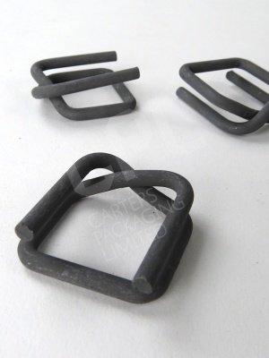 Sheradised Metal Buckles for Woven Polyester Strapping