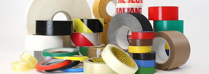 Rolls of Industrial Tape