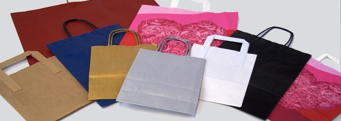 Paper Carrier Bags with Handles