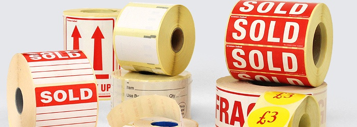 Price Cuts, Sales and Promotional Sticky Labels