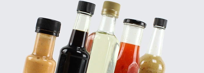 Sauce Bottles for Dressings and Sauces