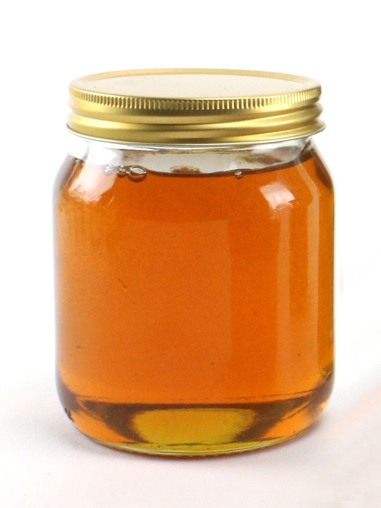 honey jar clear glass honey jars
