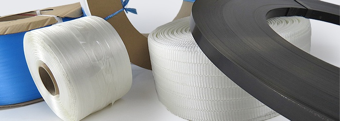 Strapping - Polypropylene, Polyester Cord and Composite, Steel and more
