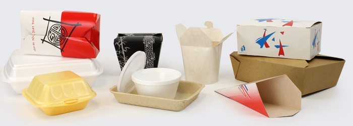 Hot Food Packaging for Takeaway Meals and Fast Food