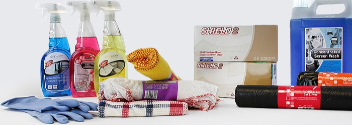Janitorial Products for Maintenance and Cleaning