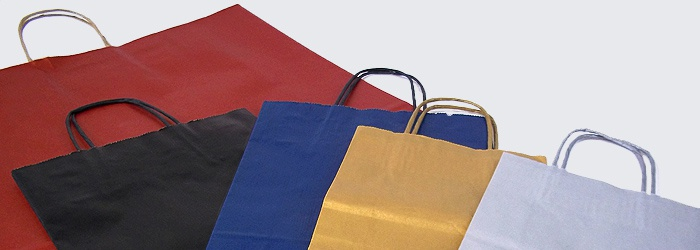 Twist Handle Carrier Bags