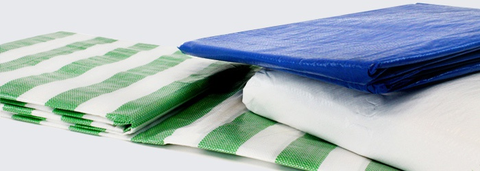 Standard and Heavy Duty Tarpaulins