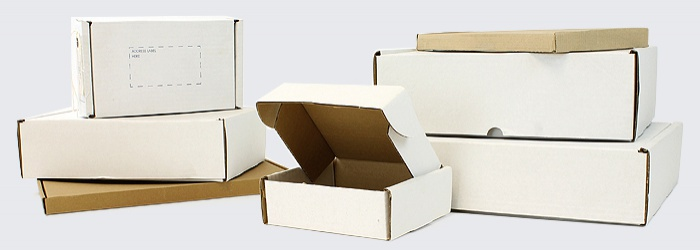Postal Boxes, PIP Boxes, Module Boxes and Other Cardbaord Packaging for Postal Services