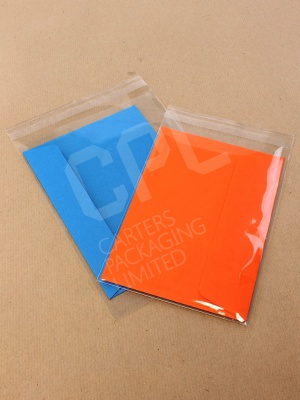 Standard Sealable Greeting Card Sleeves