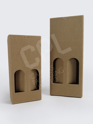 Cardboard Flute Cartons for Bottles