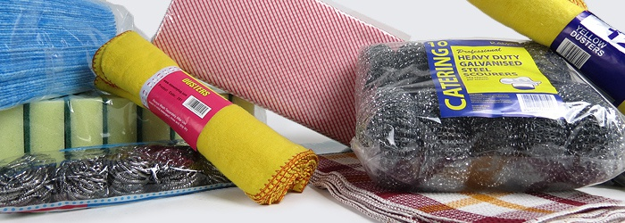 Cleaning Sponges, Cloths Scouring Pads and Dish Cloths