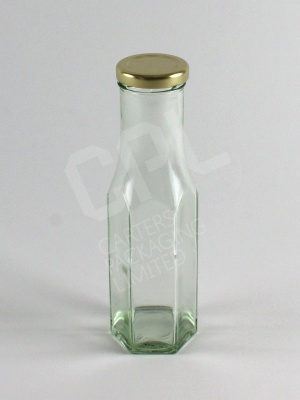 250ml Hex Sauce Bottle
