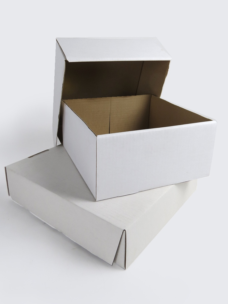 how to make cake boxes from cardboard