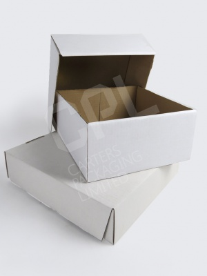 White Corrugated Cardboard Box Packaging
