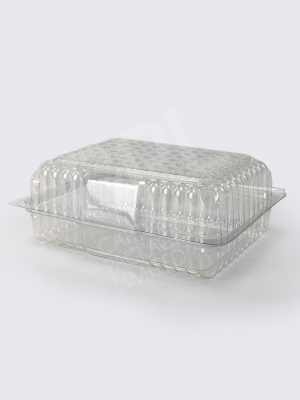 Large Hinged Cake Container