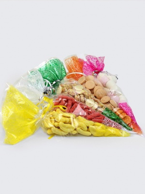 Clear Candy Cone Bags
