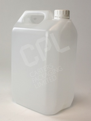 5ltr Plastic Jerry Can