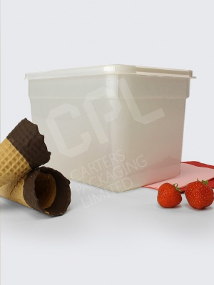 Large 4L Ice Cream Tub