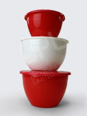 Christmas Pudding Basins With Lids