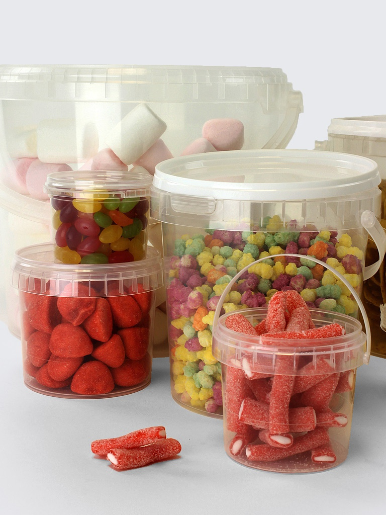 Food Storage Containers Tamper Evident Tubs