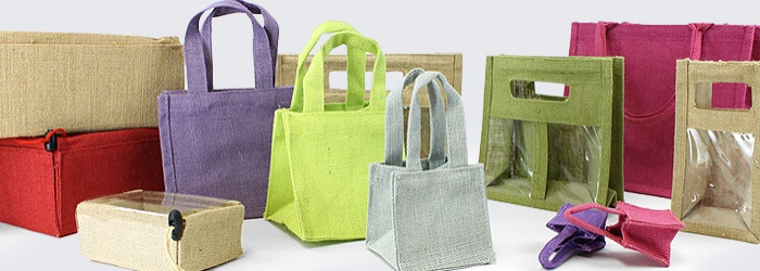 Jute Range - Bags, Boxes and Carriers