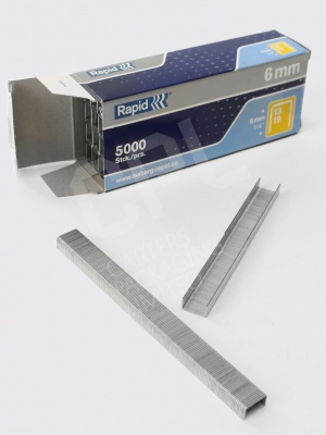 6mm Galvanised Staples