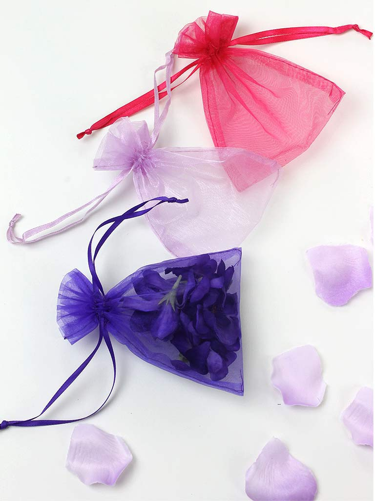 6e293d58a95 Chiffon Organza Wedding Favour Bags ...