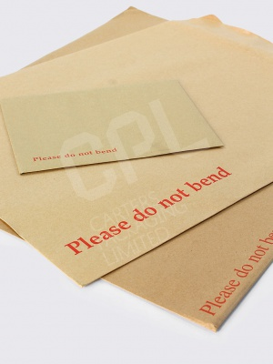 Manilla Hardbacked Envelopes (Please Do Not Bend)