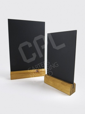 Table Top Chalkboards - Great for Menus!