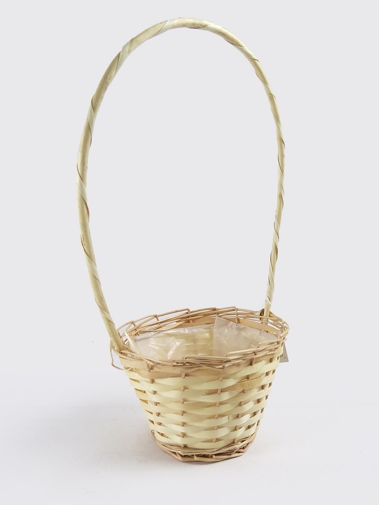 Round Wicker Baskets With Handle
