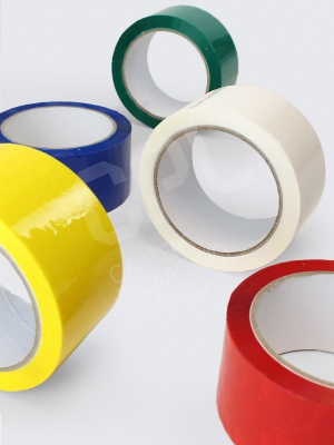 Acrylic Coloured Polypropylene Tapes
