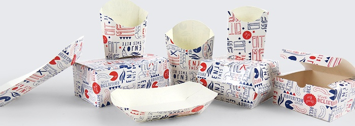Printed Fast Food Packaging
