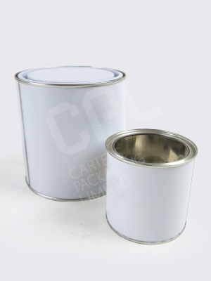 Metal Paint Tins