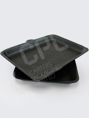 Large Black Tray with Absorption Holes (D18)