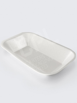 Long Foam Chip Tray (C3): Popular Sausage Option