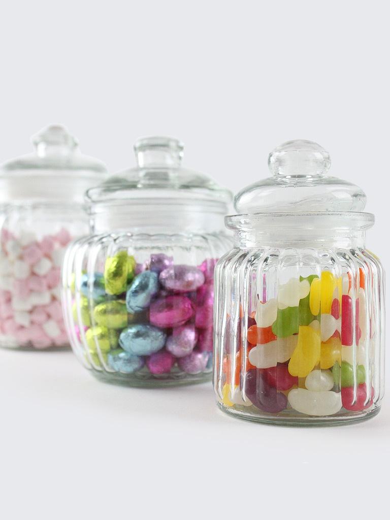 storage jars vintage wedding sweet jars. Black Bedroom Furniture Sets. Home Design Ideas